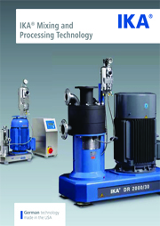IKA Mixing and Processing Technology – Chemical Image