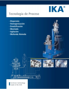 IKA Process Catalog Spanish